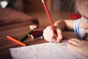 close up of girl writing 256468