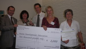 tm Presentation of award